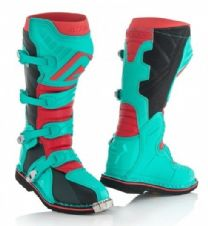 Adult Acerbis X-Pro V.Boots Green/Red